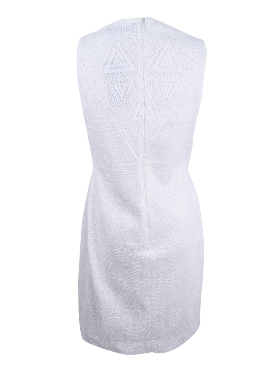 Lauren-by-Ralph-Lauren-Women-039-s-Polka-Ellar-Sequined-Sheath-Dress thumbnail 4