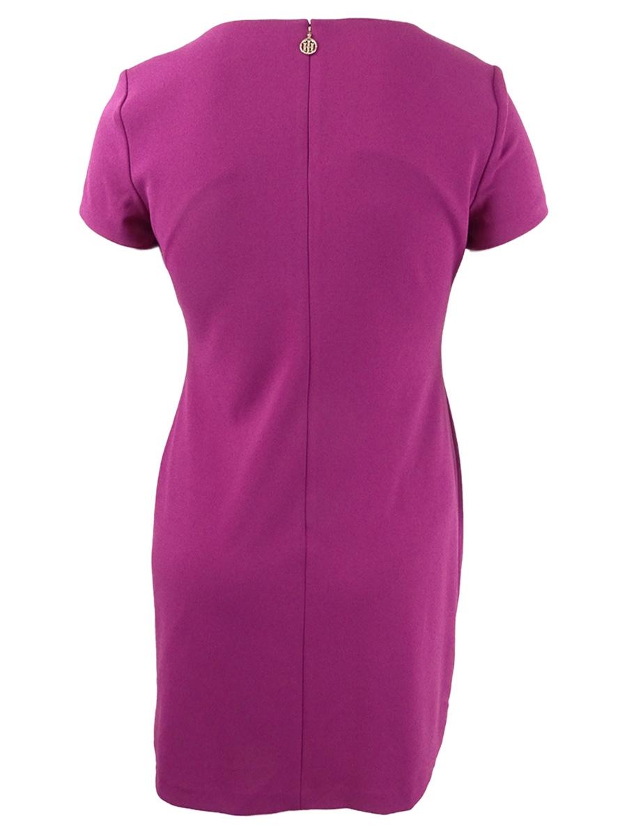 Tommy Hilfiger Women S Faux Pocket Shift Dress Ebay