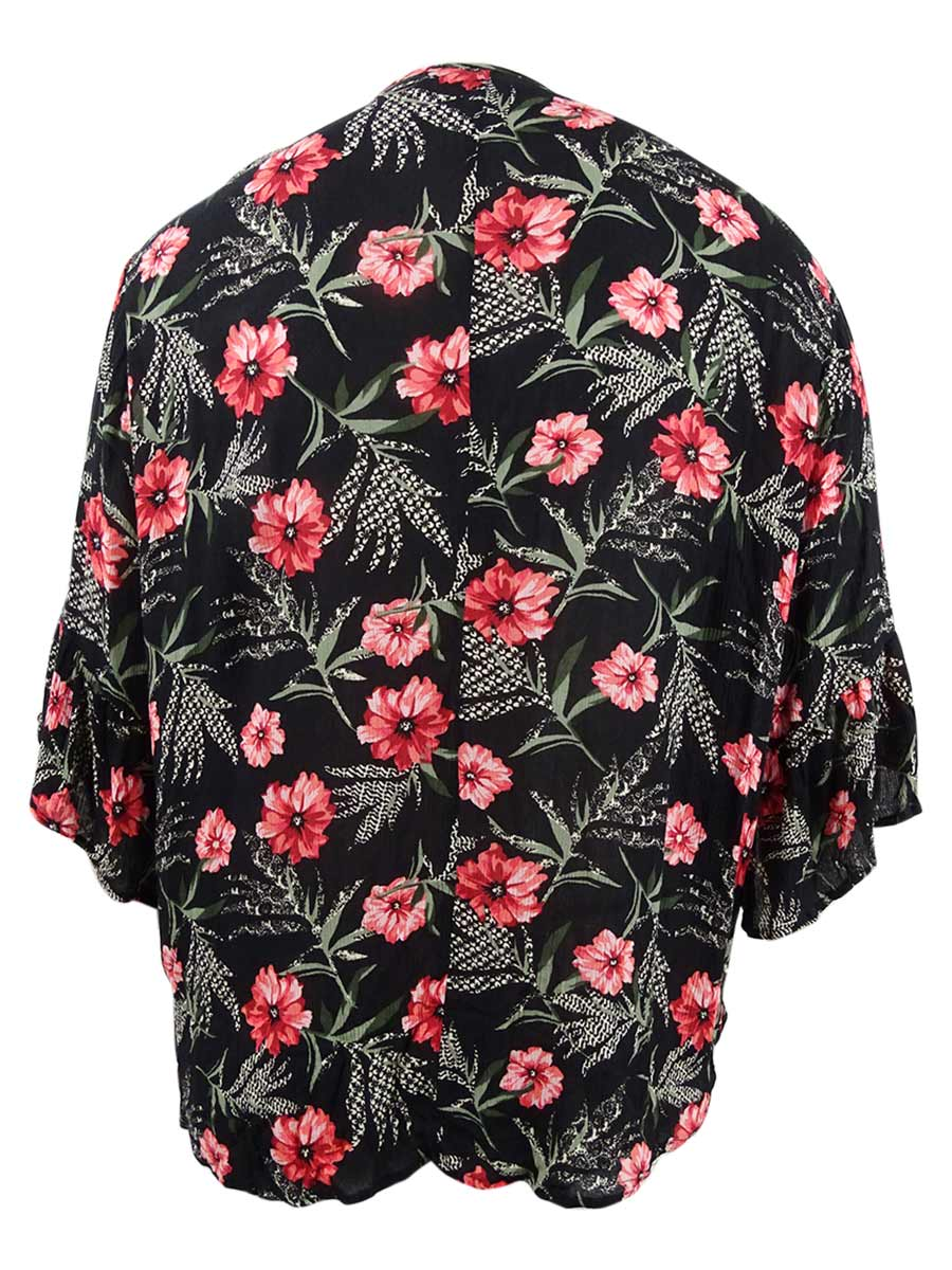 Style-amp-Co-Women-039-s-Plus-Size-Pintucked-Printed-Tunic thumbnail 4